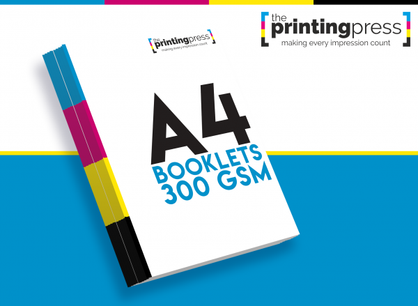 A4 Booklets with 300gsm