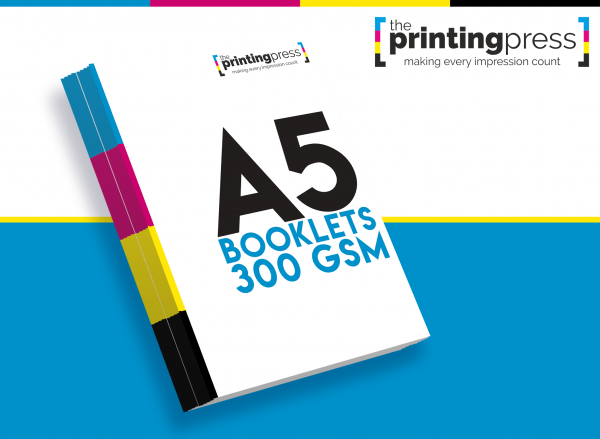 A5 Booklets with 300gsm