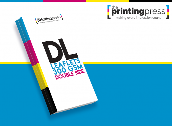 DL Leaflet 300gsm Double