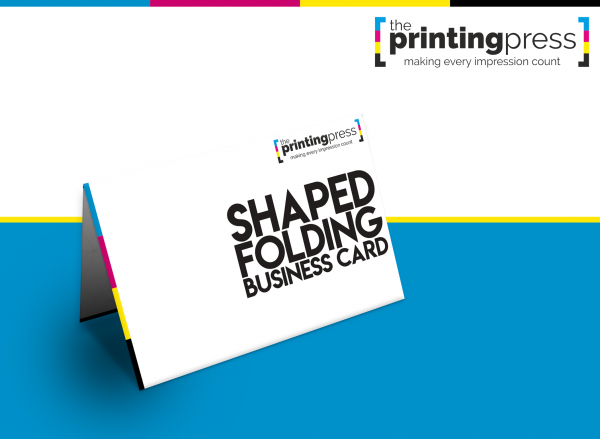Shaped Folding Business Cards