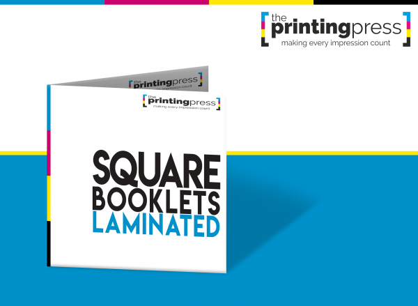 Square Booklets Laminated