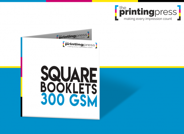 Square Booklets with 300gsm